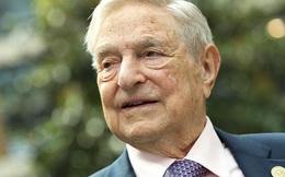 """""""Ông trùm"""" đầu cơ George Soros rút một lúc 18 tỷ USD làm từ thiện"""
