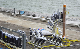'Trận địa' pháo hoa lên nòng bên bờ sông Hàn ở Đà Nẵng