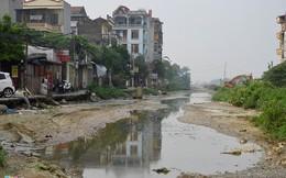 Tuyến đường ngập nước thải, ô nhiễm sau khi dừng thi công