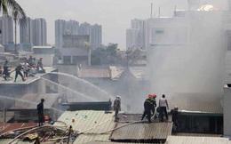 TP HCM đề xuất dùng trực thăng quân đội cùng chữa cháy