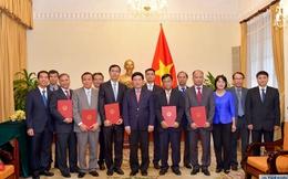 Bộ Ngoại giao bổ nhiệm nhiều nhân sự chủ chốt