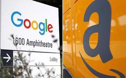"""Ngân hàng truyền thống hãy dè chừng với """"cái bắt tay"""" này của 2 gã khổng lồ internet Amazon và Google"""
