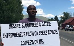 """""""Lì lợm"""" chờ đợi cơ hội để xin lời khuyên từ tỷ phú và CEO, anh chàng 29 tuổi đã thành công và xây dựng công ty riêng"""