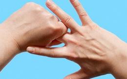 Lợi ích sức khỏe không thể ngờ khi bạn xoa nhẹ các ngón tay đúng cách trong vòng 5 phút