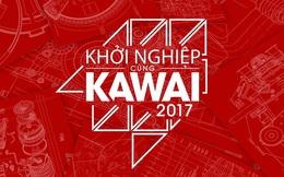 """Cuộc đối đầu nghẹt thở của 5 """"gã khổng lồ"""" đêm chung kết khởi nghiệp cùng KAWAI 2017"""