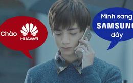 """Tuyển tướng để đấu với Oppo, Samsung """"nẫng"""" luôn Soobin Hoàng Sơn của Huawei, đẩy hãng này vào thế khó"""
