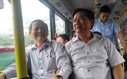Bí thư Thăng đi xe buýt nối Tân Sơn Nhất với 2 bến xe lớn