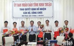Ninh Thuận điều động, bổ nhiệm hàng loạt nhân sự cấp cao