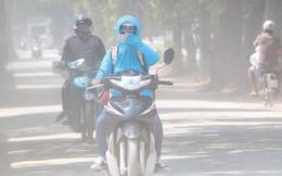 Hà Nội: Con đường bão bụi, bịt 2 khẩu trang không ăn thua