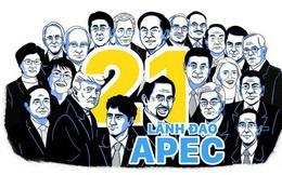 Chân dung 21 lãnh đạo nền kinh tế dự hội nghị APEC tại Đà Nẵng