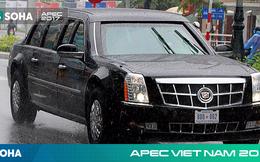 [NÓNG] Dàn xe của tổng thống Trump hộ tống siêu xe Cadillac One The Beast xuất hiện trên phố Đà Nẵng