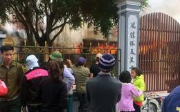 Hỏa hoạn thiêu rụi ngôi đình cổ hàng trăm tuổi ở Thái Bình