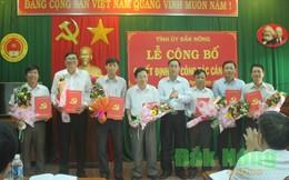 Điều động, bổ nhiệm hàng loạt nhân sự chủ chốt tỉnh Đắk Nông