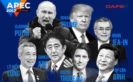 [INTERACTIVE] Toàn cầu hóa và câu chuyện của 7 lãnh đạo dự APEC 2017 tại Đà Nẵng