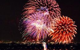 TPHCM bắn pháo hoa tầm thấp mừng năm mới 2018