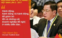 Doanh nhân Trần Mạnh Báo đề nghị coi doanh nghiệp làm chủ thể trong sản xuất nông nghiệp thay thế kinh tế hộ