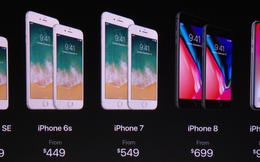 iPhone X trình làng, Apple giảm giá cho iPhone 7 và hàng loạt sản phẩm