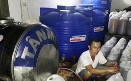 Bắt giữ vụ sang chiết hàng nghìn lít dầu ăn Tường An giả