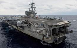 Máy bay chở 11 người của Hải quân Mỹ lao xuống Thái Bình Dương