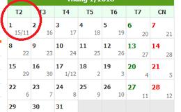 Tết dương lịch 2018 được nghỉ mấy ngày?
