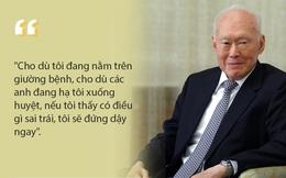 7 nguyên tắc sống để đời của cố Thủ tướng Singapore Lý Quang Diệu: Tôi chọn làm một lãnh đạo được nể sợ