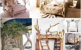 """Đẹp mãn nhãn với những chiếc """"giường cây"""" độc lạ trong phòng ngủ"""