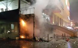 Hà Nội: Cháy lớn ở tổ hợp chung cư Hồ Gươm Plaza