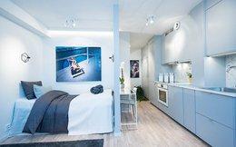 Cần gì phải ở nhà to khi có căn hộ chỉ 25m2 được bố trí và thiết kế nội thất tuyệt đẹp như thế này