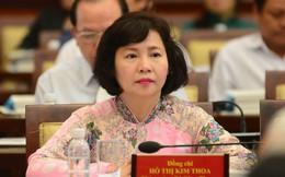 Kiến nghị miễn nhiệm các chức vụ hiện nay của Thứ trưởng Bộ Công thương Hồ Thị Kim Thoa