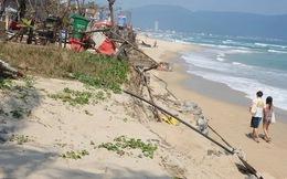 Tại sao bãi biển Đà Nẵng liên tục bị sạt lở?