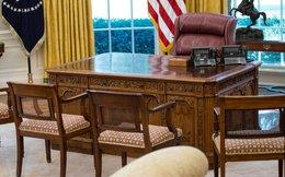 Tổng thống Trump vừa tân trang lại Nhà Trắng bằng những chú chim đại bàng bằng vàng