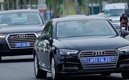 Tin mới về các xe Audi phục vụ APEC