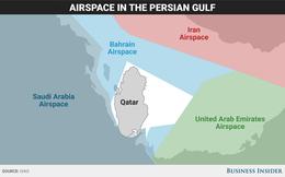 Lý giải tình cảnh khốn cùng của Qatar Airways qua một tấm bản đồ