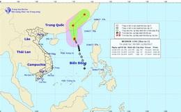 Bão số 1 cách Hong Kong (Trung Quốc) 280km về phía Đông Nam
