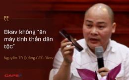 Nguyễn Tử Quảng khóc trong buổi chia sẻ về khát vọng dài hơi cho ngành công nghiệp smartphone Việt Nam