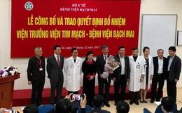 Bổ nhiệm PGS.TS.BS Phạm Mạnh Hùng làm Viện trưởng Viện Tim mạch Việt Nam