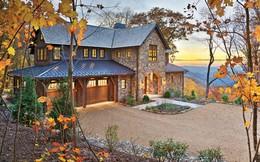 Chiêm ngưỡng biệt thự đẹp mộng mơ trên núi