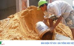 """TP.HCM: """"Loạn"""" giá cát xây dựng"""