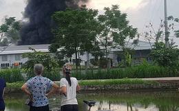 Cháy khu vực để vải vụn công ty may, hàng trăm công nhân sơ tán khẩn cấp