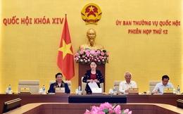 Khai mạc phiên họp thứ 12 của của Ủy ban Thường vụ Quốc hội