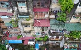 Hình ảnh 'không thể tin nổi' chung cư cũ nát bậc nhất Hà Nội