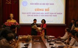 Bảo hiểm Xã hội Việt Nam bổ nhiệm nhân sự mới
