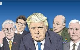 Hai tỷ phú và 10 triệu phú USD trong nội các của Trump