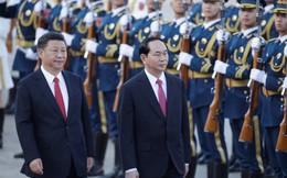 21 loạt đại bác chào mừng Chủ tịch nước Trần Đại Quang thăm Trung Quốc