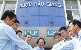ĐHĐCĐ của Dược Hậu Giang (DHG) thông qua việc nới room ngoại lên 100%