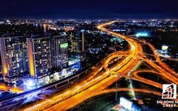 Ảnh: Nhiều cao ốc, khu đô thị mới rực rỡ về đêm khiến trung tâm Sài Gòn đẹp lung linh, huyền ảo