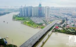 Tuyến Metro số 1 Bến Thành - Suối Tiên nhìn từ trên cao