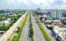 """Đề xuất xây dựng tuyến đường sắt trên cao để """"giải cứu"""" kẹt xe sân bay Tân Sơn Nhất"""