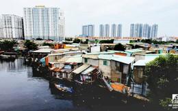 Toàn cảnh nhà ổ chuột ven kênh rạch Sài Gòn nhìn từ trên cao, cần tới 50.000 tỷ đồng để giải tỏa lấy đất phát triển đô thị