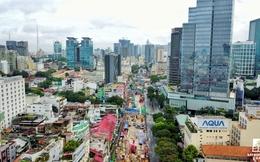 Diện mạo khu trung tâm Sài Gòn nhìn từ trên cao